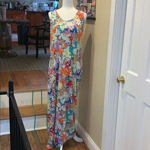 EUC Lularoe Floral Dani Maxi Dress